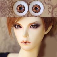 ブラウンorangeゴールドbjd bjd人形toys眼球用1/3 1/4 1/6 sd人形16ミリメートル18ミリメートル20ミリメートル22ミリメートルアクリル目ためtoysペア