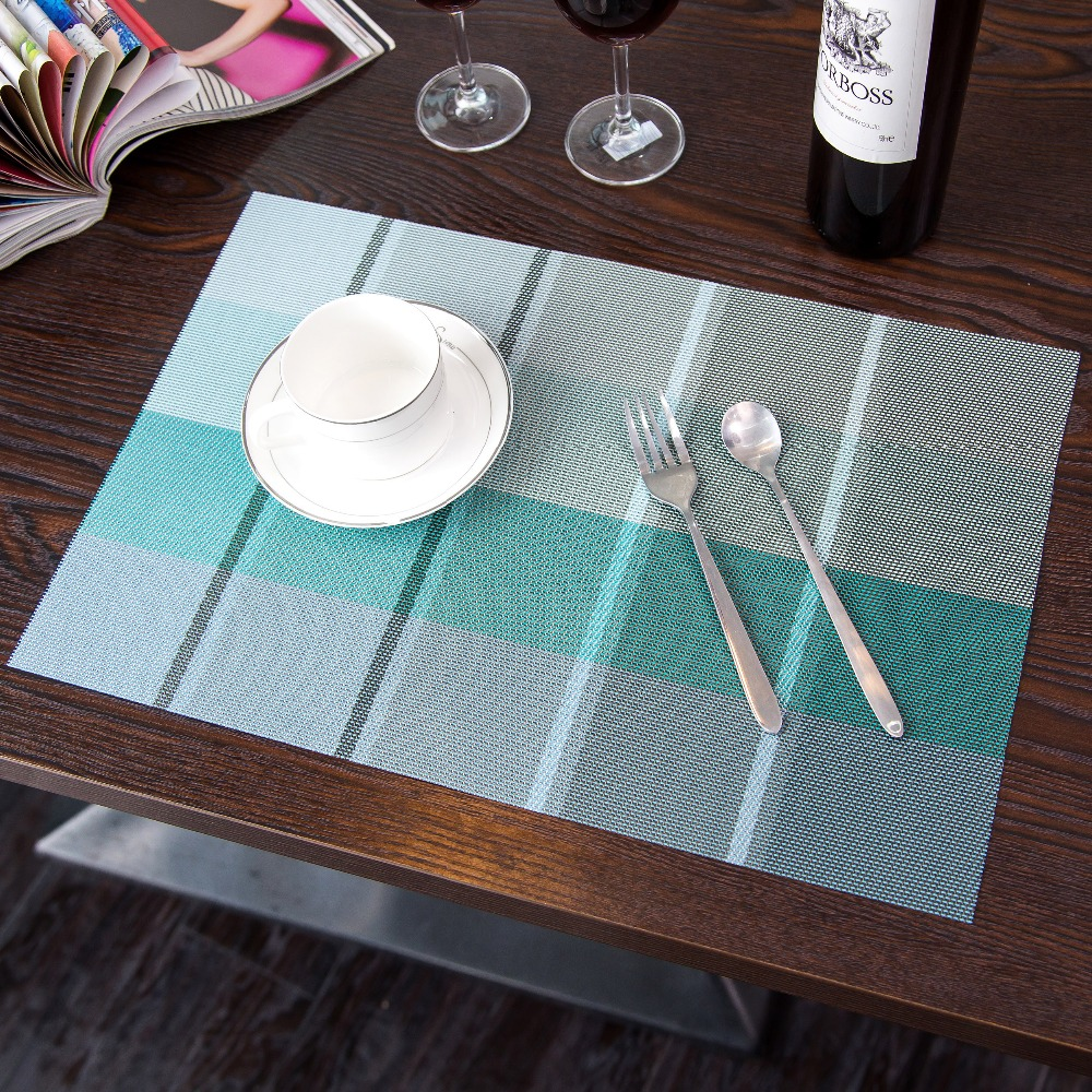 5 Colours Table Placemaat Kitchen Accessories Placemats For Table Mat Drink Coasters Cup Dishes Mug Stand