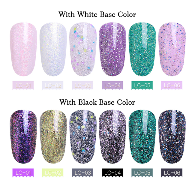 LILYCUTE 8ml Pearl Fairy Nail Gel