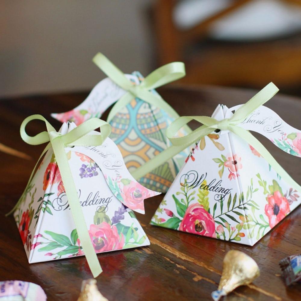 Wedding Gift Ideas For Kids: 10pcs/lot Paper European Wedding Candy Box Baby Shower