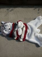 150cm Husky Dog Skin Plush Toys Teddy Bears Hull Large Animal Coat Factory Wholesale