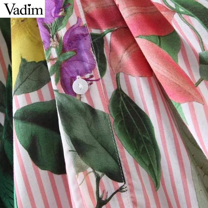 HTB1Nn20RXXXXXb2XVXXq6xXFXXXK - Women vintage floral long sleeve turn down collar blouses casual