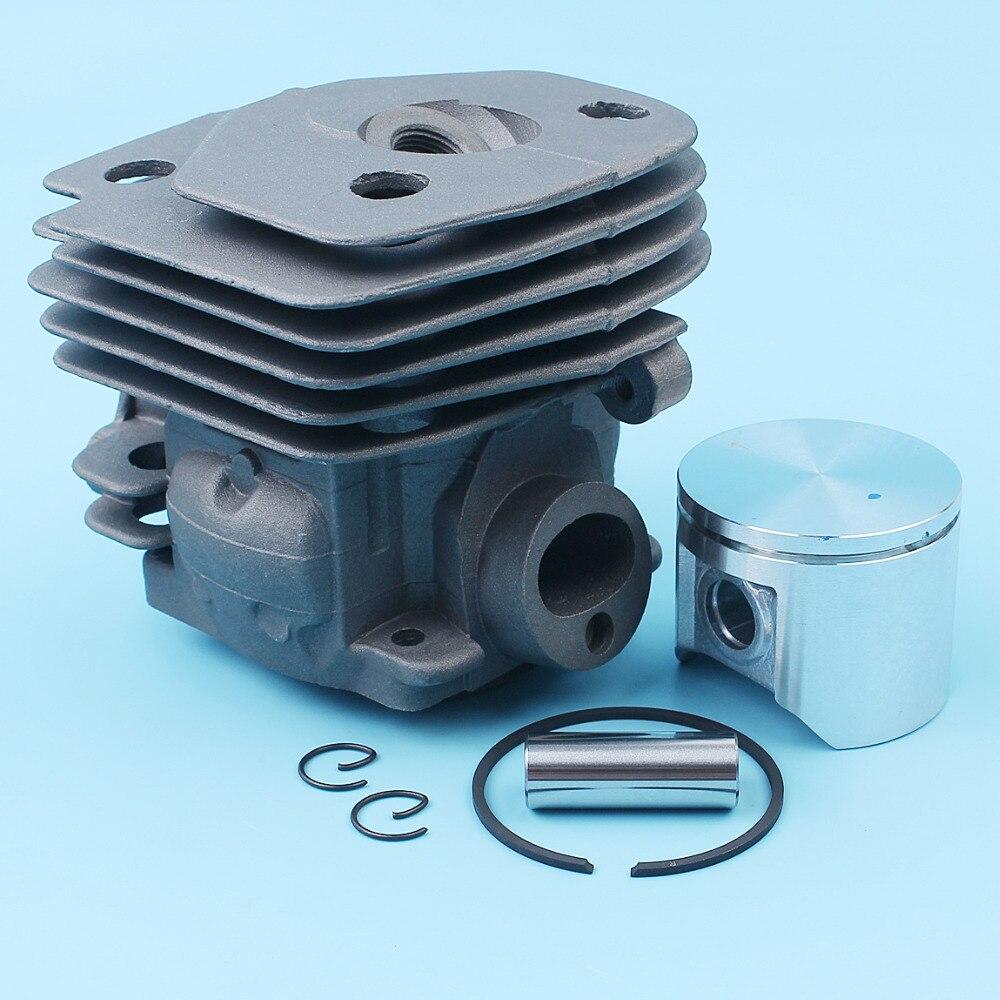 47mm Cylinder Piston Pin Ring Kit For Husqvarna 357 359 Jonsered 2159 CS 2156 CS2159 EPA Chainsaw Nikasil Plated 537 15 73 02