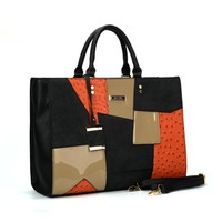 2017 Newest Brand Designer Top Handle Handbags Tassel Pu Leather Tote Shoulder Bag Handbags Online Sale