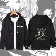 Naruto Sasuke Long Sleeved Autumn Hoodie