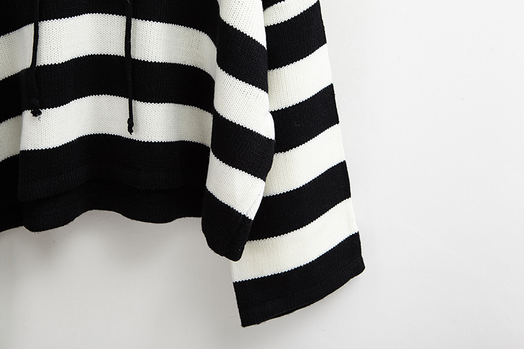 Mulheres kawaii tricô solto design curto bonito