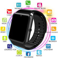 Original Smart Watch GT08 Clock Sim Card Push Message Bluetooth Connectivity For Android IOS apple Phone PK Q18 DZ09 Smartwatch smartwatch q18 smart watch support sim tf card phone call push message camera bluetooth connectivity for ios android phone
