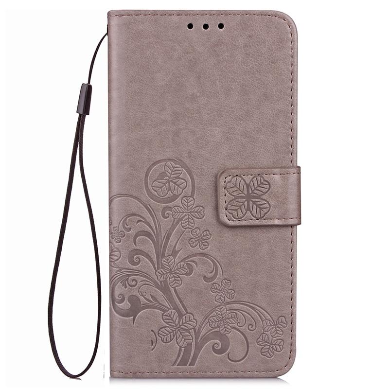 Huawei P10 Lite Flip Cüzdan üçün PU Dəri - Cib telefonu aksesuarları və hissələri - Fotoqrafiya 2