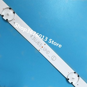 Image 2 - 새로운 키트 3 PCS 7LED 830mm LED 백라이트 스트립 LG TV 43UJ634V 43LJ61_FHD_L LC43490059A LC43490058A Innotek 17Y 43inch_A Type