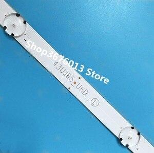 Image 2 - New Kit 3 PCS 7LEDs 830mm LED backlight strip for LG TV 43UJ634V 43LJ61_FHD_L LC43490059A LC43490058A Innotek 17Y 43inch_A Type