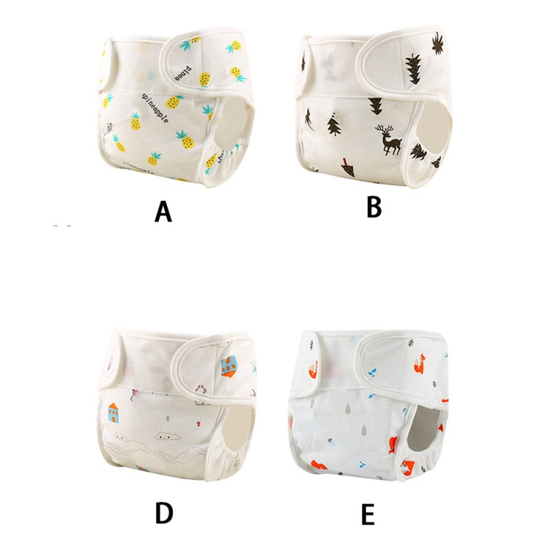 Baby Cloth Reusable Diapers Nappies Washable Newborn Ajustable Diapers Nappy Changing DiaperWashable Cloth Diapers 3-10kg