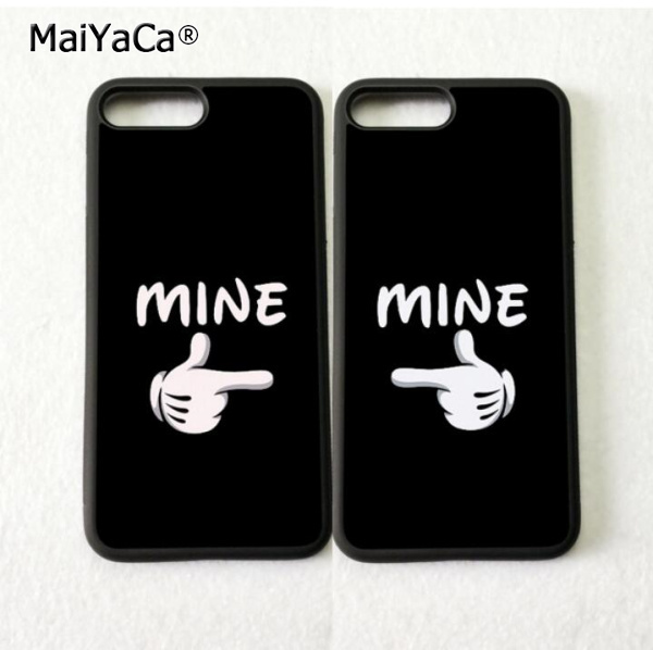 big sale d45ea 3a501 you are mine BFF love pair best friends soft phone cases for iPhone ...