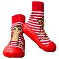 Zapatos De niño Calcetines Tridimensionales Niños de Algodón Recién Nacido Bebé Calcetines Con Suela De Goma Antideslizante Ws5011