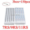 150PCS  Single Stack Disposable Tattoo Needle Supply for free shipping