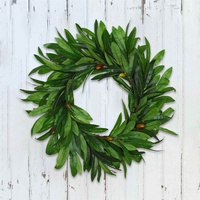 Artificial Olive Branches Garland Flower Wreath Plants Rattan For Christmas Party Decor Wedding Ornaments Home Decor Gift