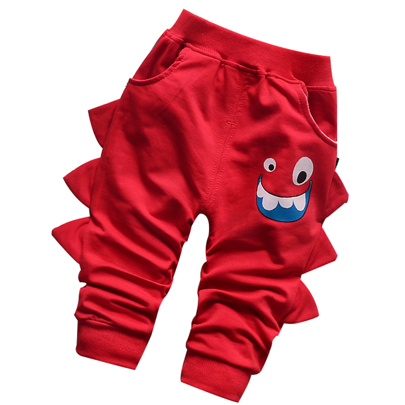 2017 new Spring baby boy pants Funny cartoon cute high quality 100% cotton baby girls trousers kids pants 0-2 year baby pants