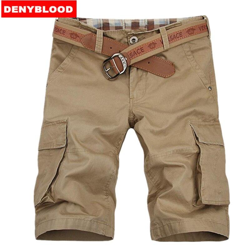 113488c57cb US $34.95  Plus Size 29 38 Mens Chino Shorts Black Stonewashed Jeans  Khaki,Black,Grey Casual Cargo Shorts Bermuda Homme Men's Caprils 6986-in  Casual ...