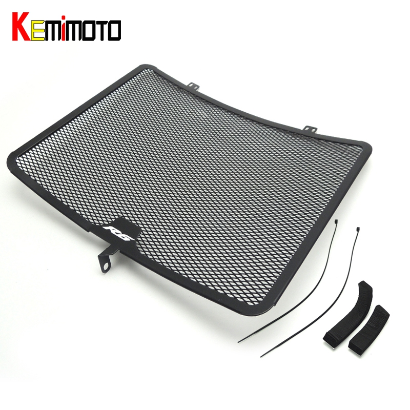 KEMiMOTO Aluminum Radiator Guard Cover Grille For YAMAHA YZF R6 YZF-R6 2008-2014 Oil Cooler Protector for yamaha xjr 1300 xjr1300 1998 2008 99 00 01 02 03 04 05 06 07 motorcycle oil cooler protector grille guard cover