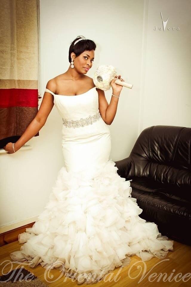 Pictures of black women wedding dresses