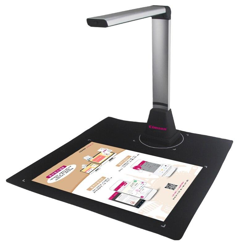 Scanner Q580 Livre et Document CimFAX, 5 Méga-pixel, Capture Taille A4, A5, A6, a7, avec Smart OCR pour Windows, Logiciel En Anglais