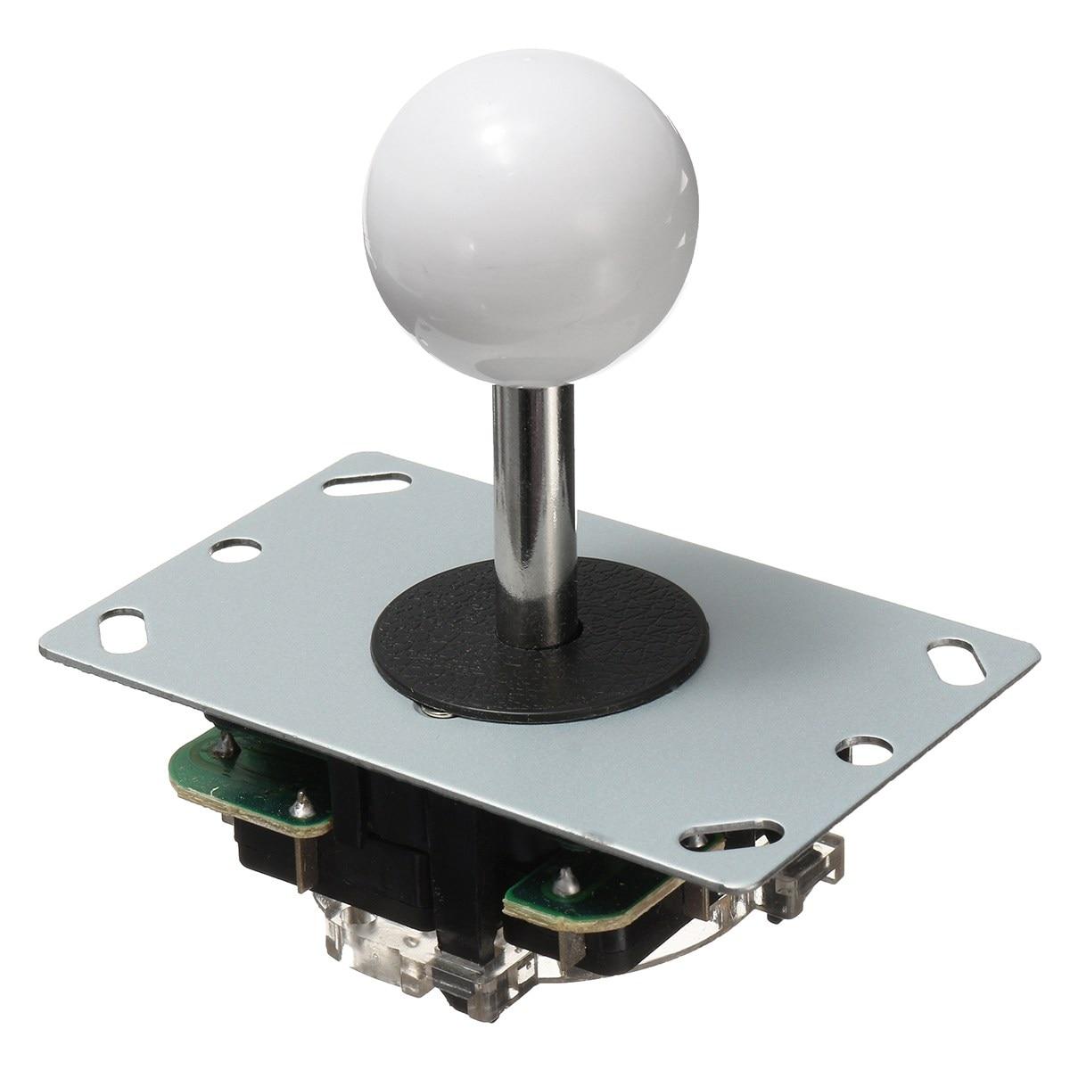 Cero retraso Joystick Arcade DIY Kit LED botón + Joystick + USB codificador + arnés de cable controlador USB para arcade Mame juego de Arcade - 3