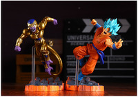 Nieuwe Fukkatsuno F Super Saiyan Goku Gokou Gold Freeza Frieza Dragon Ball Z Battle 6