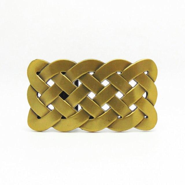 33882149d840 Mode Western Keltic Américain Boucles De Ceinture En Alliage de Zinc Hommes  de Ceinture Boucle Pour