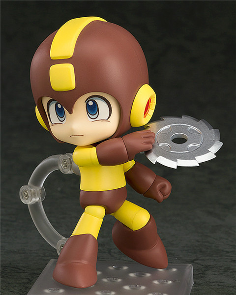 2016 New hot Megaman Nendoroid Q 556B MegaMan Edition Metal Blade PVC Action Figure Collectible Model Toy 10cm