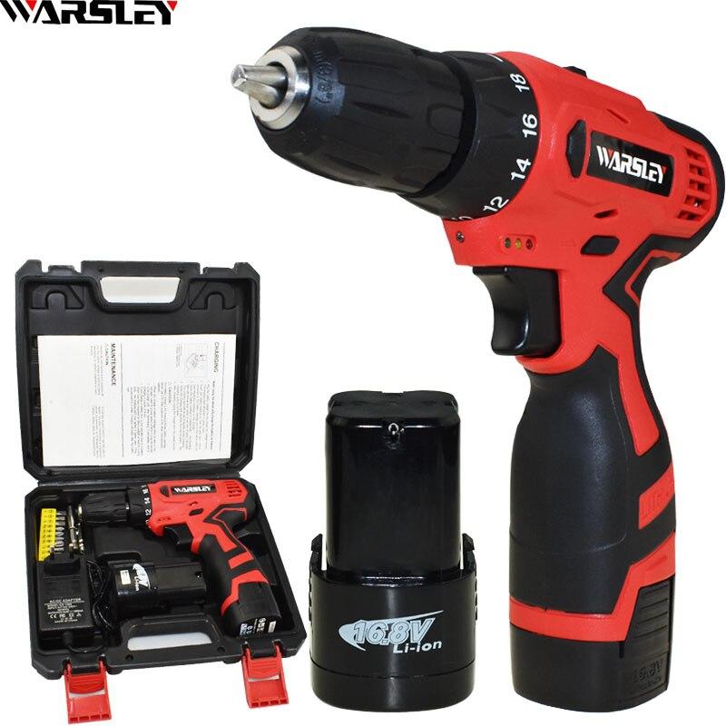 New Style 16 8V Screwdriver Power Tools Drill Electric Screwdriver Electric Drill Cordless Electric Mini Batteries