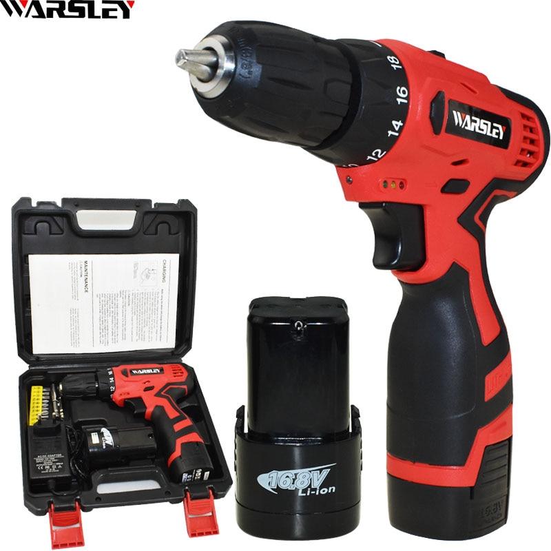 Nuovo Stile 16.8 V Cacciavite Power Tools Trapano Avvitatore Elettrico Trapano Elettrico Senza Cordone Elettrico Mini Batterie Cacciavite