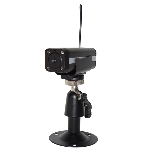 Long Range IR Night Vision 4CH Optional Wireless 2.4Ghz Camera For Baby Monitor