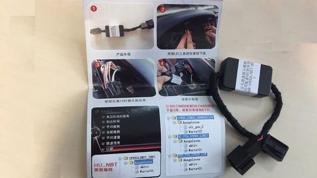 for BMW F3 F5 F7 X5 x6  Series Speed Limit Information Emulator  SLI Emulator BMW F-series  NBT ProfSatNav  head unit