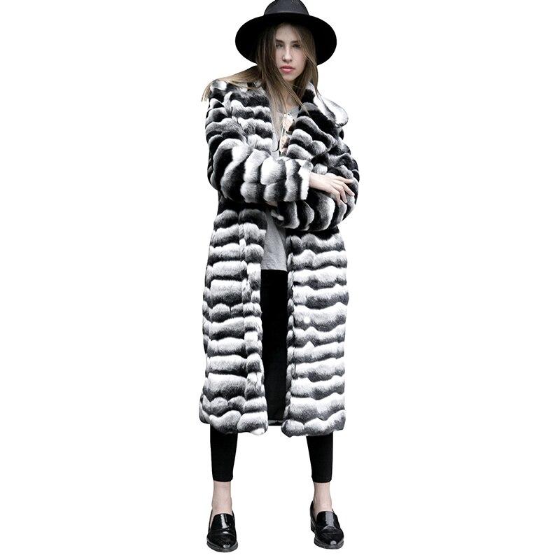 Femme L'économie Artificielle Nouvelle Femmes As Vêtements Faux Vison De Fourrure Hiver La Bande Show Manteaux Fausse Plus Zx1369 Taille 2018 pgdcBPqw