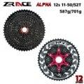 Zracing Alpha 12 s легкая кассета 12 скоростной MTB велосипед Freewheel 11-50T/11-52T-черный, совместимый M9100 / XX1 X01 GX NX Eagle
