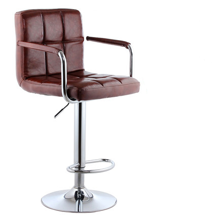 Simple Design Swivel Bar Chair Office Chair Lifting Bar Stool Adjustable  Height Rotatable Reception/Waiting