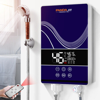 Instant Heating Remote Control Electric Water Heater Small Kitchen Treasure Quick Heating Constant Water Heating Bathing Machine