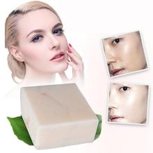 Мыло ручной работы с рисовым молоком, коллаген, витамин, отбеливание кожи, удаление пор, увлажняющее, Отбеливающее рисовое Молочное мыло TSLM2