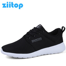 Ziitop Running Shoes For Women Zapatillas Deporte Mujer Sneakers Women 2017 Mesh Athletic Sports Shoes Women Flat Trainers Shoes