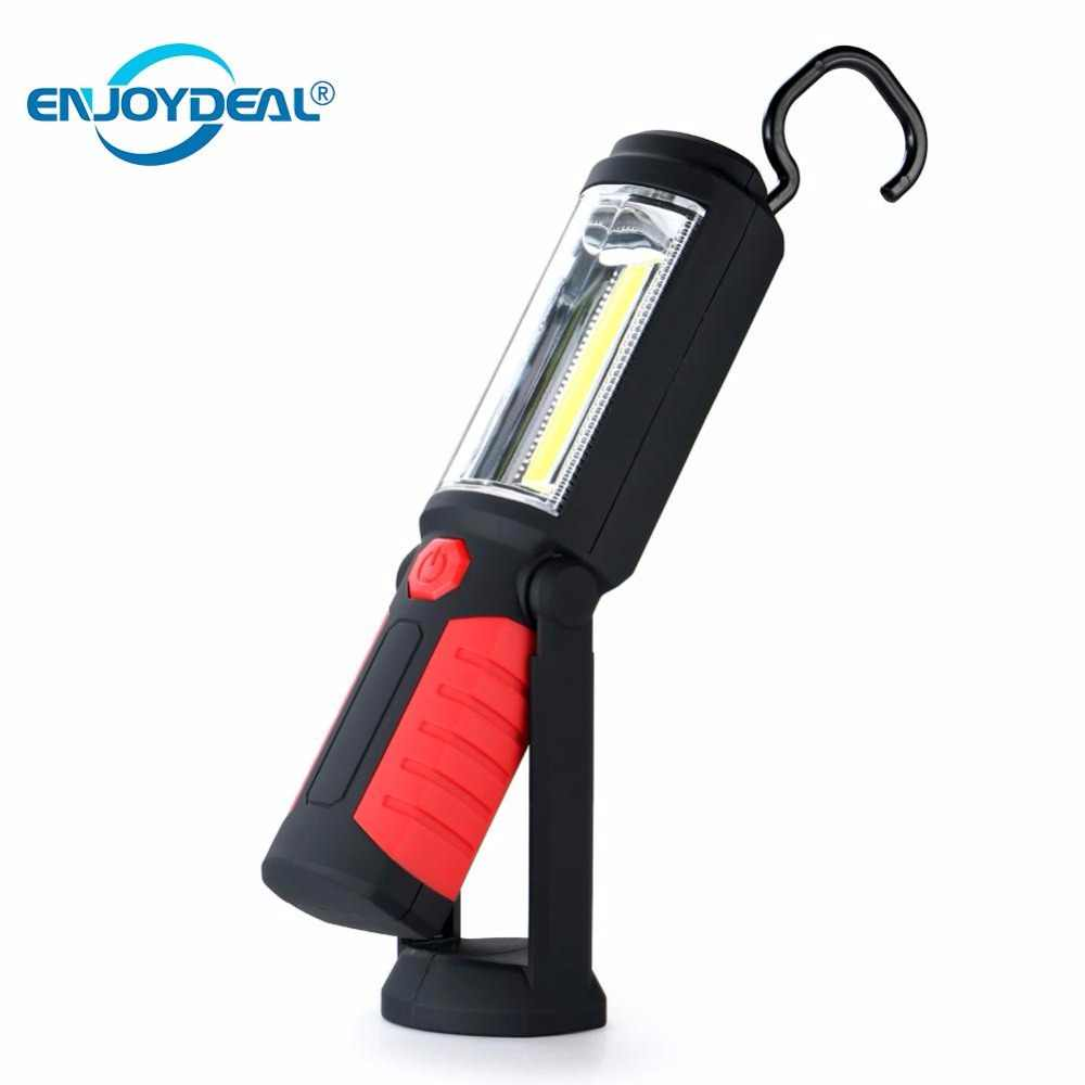 16 LED Magnetic Inspection Hand Torch Camping Hanging Work light Lamp Flashlight