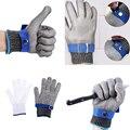 Перчатки с сеткой для рыбалки  перчатки для охоты  защитные для работы с ножом  защита от резки  стальной проволоки