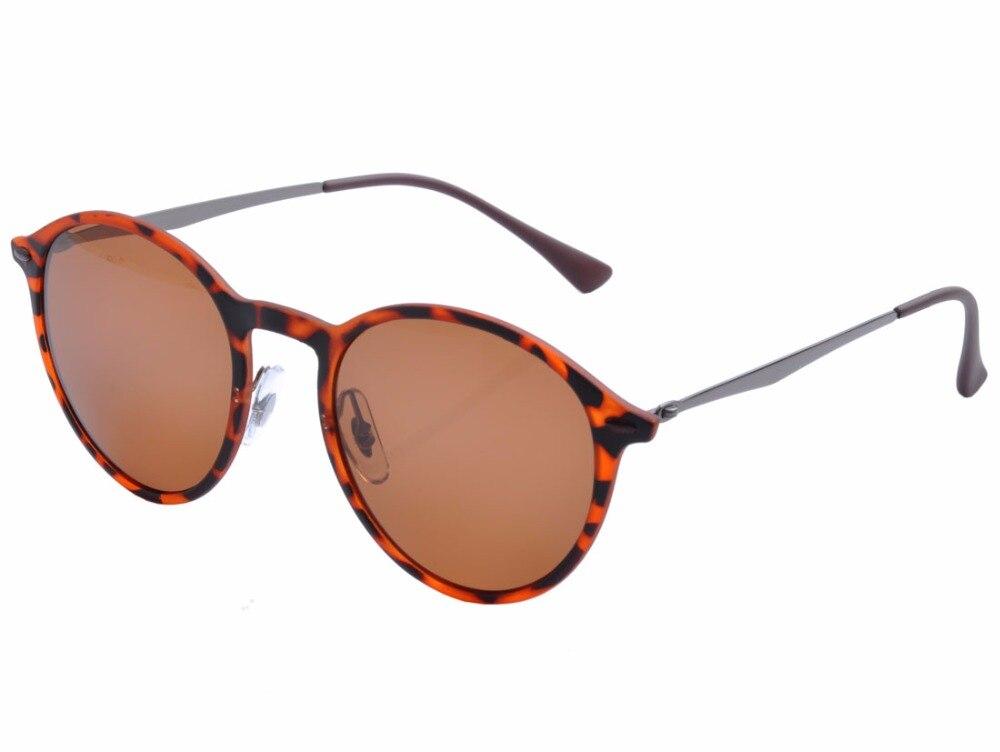 7e5856334490b9 Deding 13g Rond rétro de Femmes Polarisées UV 400 Protection lunettes de  Soleil Hommes réfléchissant miroir de Mode lunettes de Soleil DD1413