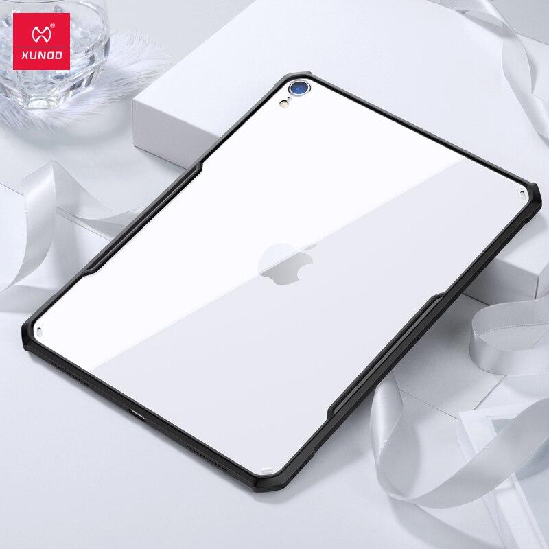 XUNDD De Protection étui pour tablette pour nouvel iPad Pro 11 12.9 9.7 10.2 10.5 pouces 2017 2018 mini 12345 air2 avec airbags Antichoc Coques