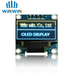 Image 3 - NEW 100pcs 0.96 inch IIC Serial White/Blue/Yellow OLED Display Module 128X64 I2C SSD1306 12864 LCD Screen Board  for Arduino