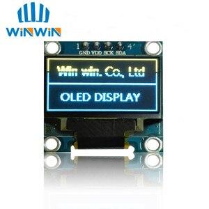 Image 3 - ¡Nuevo! Módulo de pantalla OLED 100 Uds 0,96 pulgadas IIC Serial Blanco/azul/amarillo 128X64 I2C SSD1306 12864 monitor de pantalla LCD para Arduino