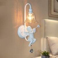 Loft Retro Iron Led Wall Lamp American Industry Wind Vintage Wall Lights Of Aisle Coffee Restaurant