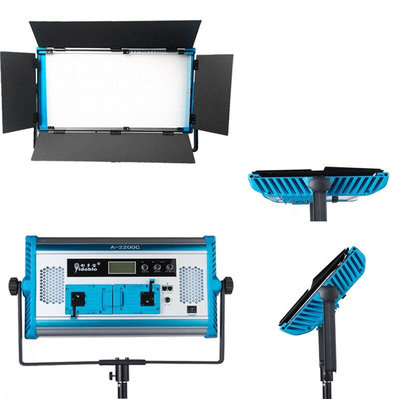 Nouveau contrôle d'application RGB lampe à LED 4 couleurs photographie panneau lumineux continu portes d'entrée/DMX Compatible Photo Studio Film vidéo lumière