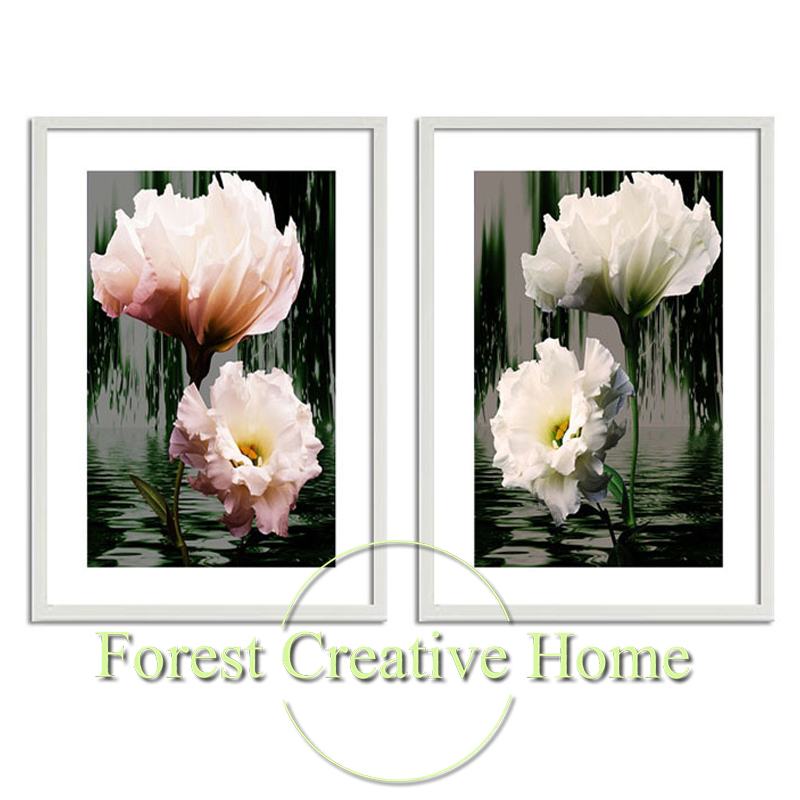 Modern minimalist aesthetic daffodils decorative painting photo creative home decorative design printing painting wall