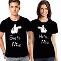 YEMUSEED XXXL Мужской футболки Harajuku Пара Футболка Женщины Мужчины Hipster Мода Черный Топы Студентов Одежды WMT312