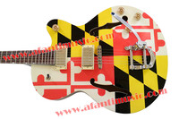 Afanti Music Hollow body style electric guitar (AHY 950)