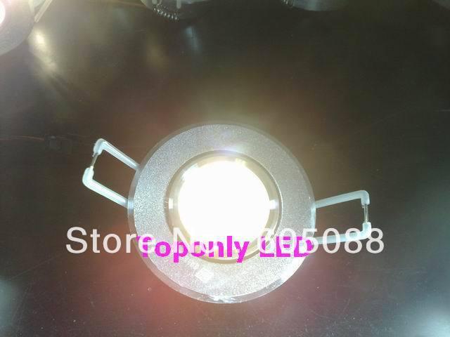 1w Epistar led eyeball downlight,for cabinet/furniture lighting,AC85-265v, life>50,000hr,200pcs/lot wholesale,DHL free shipping!